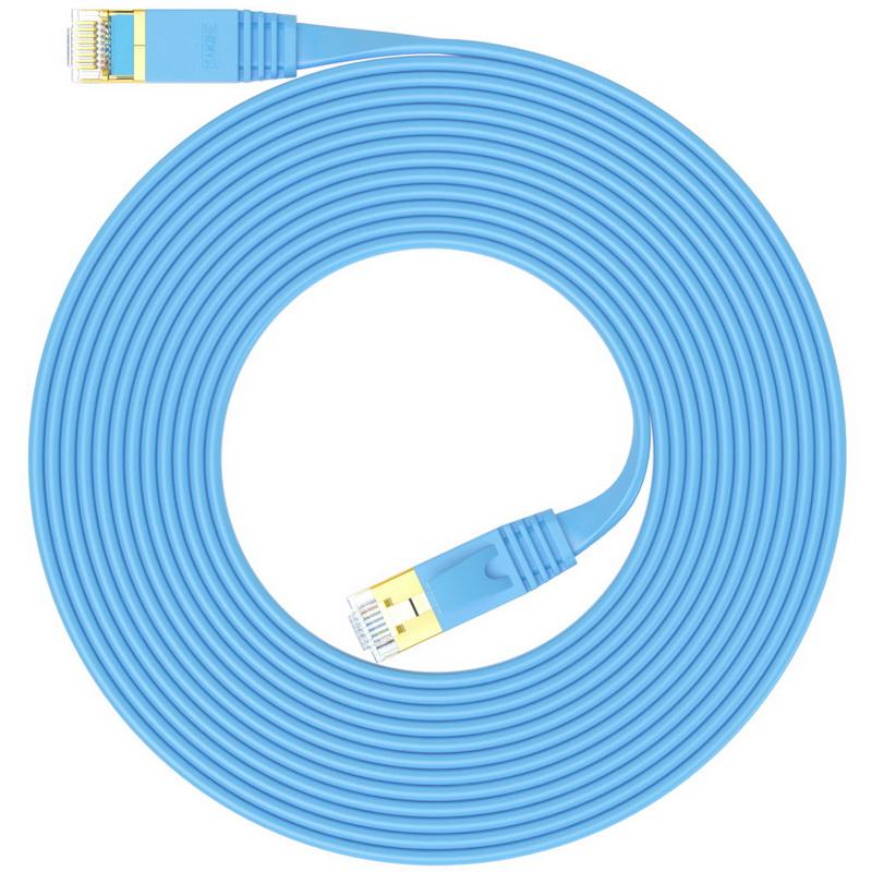 JD Коллекция Плоский Голубой 2 м кабель