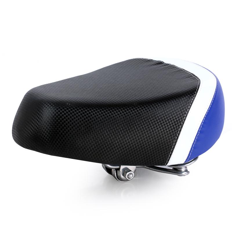 JD Коллекция Черное и синее электрическое седло