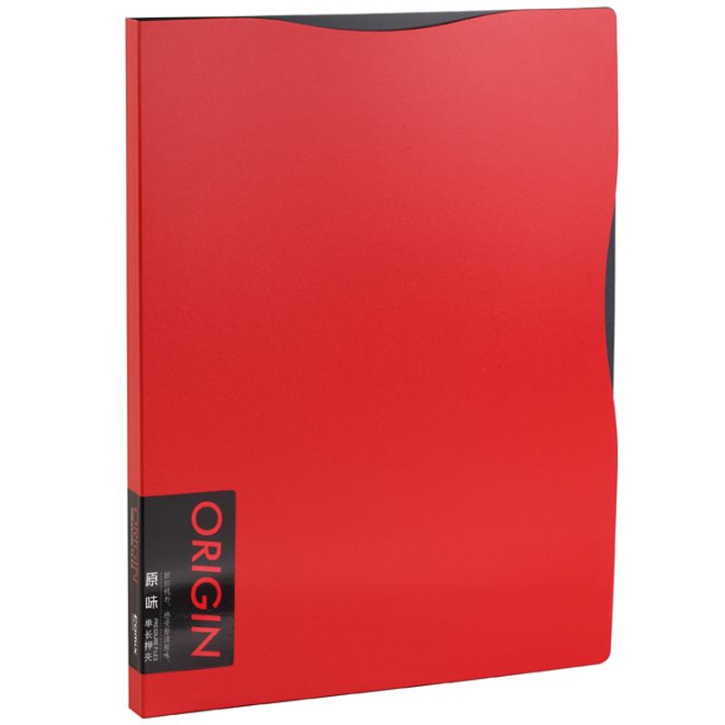 где купить JD Коллекция красный Бабочка серия одиночный мощный скоросшиватель по лучшей цене