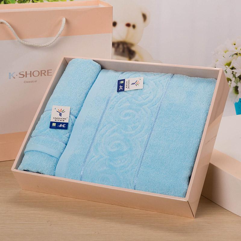 KINGSHORE Полотенца банные полотенца Подарочные цена