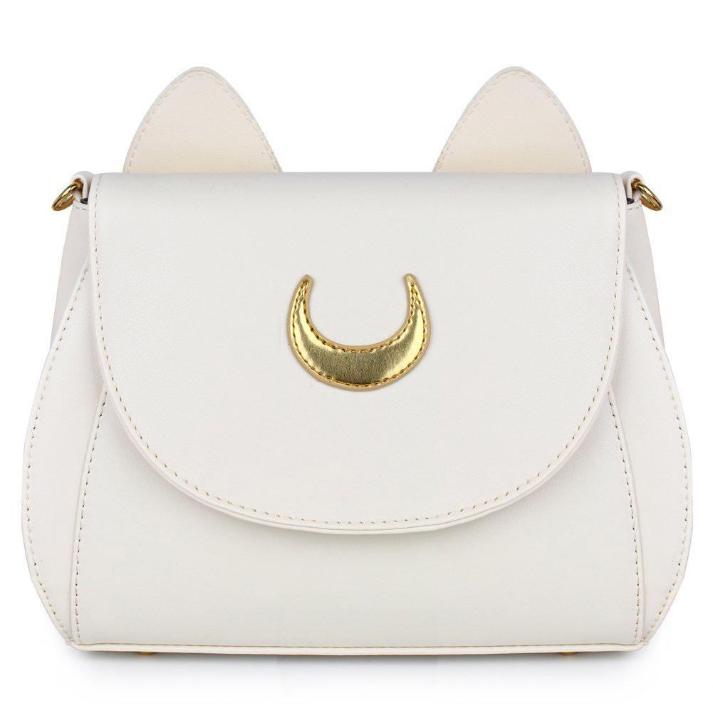 MyMei Белый women cat sailor moon luna backpack girls cute cosplay rucksack school bags