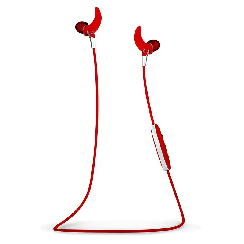 JD Коллекция красный беспроводные наушники monster isport freedom wireless bluetooth on ear green