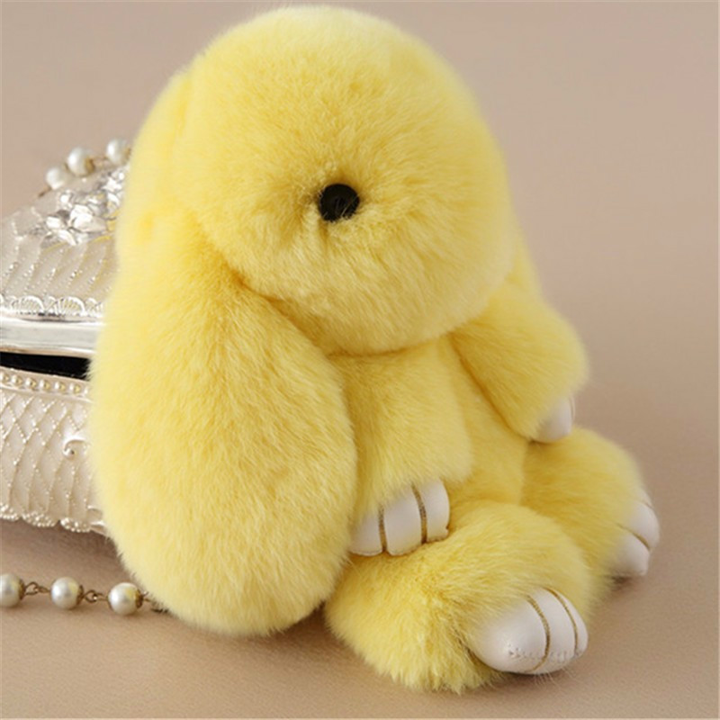 MyMei Жёлтый цвет small kawaii bunny plush rabbit doll stuffed animals hare soft toys baby children gifts kids cuddly toy 20cm