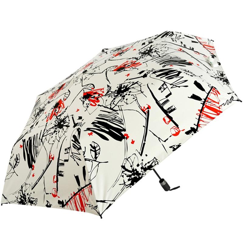 JD Коллекция бежевый дефолт jingdong [супермаркет] рай зонтик upf50 весь оттенок черного винила передачи сложенный зонтик зонтик зонт от солнца восход 30309dlcj