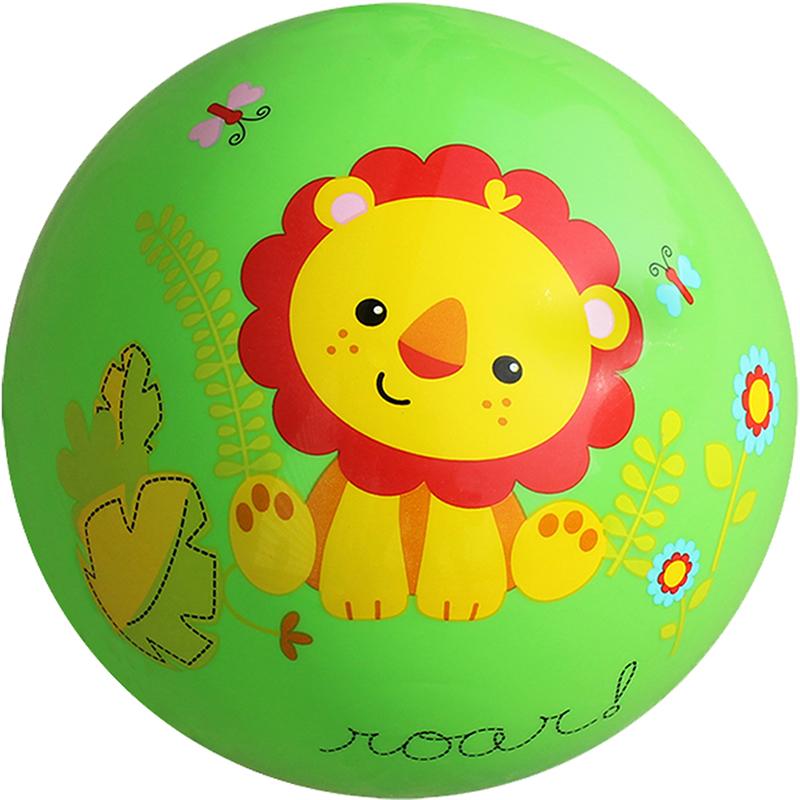 JD Коллекция 9-дюймовый зеленый шар погладить детские игрушки fix price