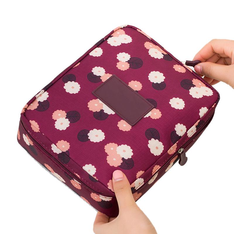 Фото - MyMei Красный цвет ladsoul 2018 women multifunction makeup organizer bag cosmetic bags large travel storage make up wash lm2136 g