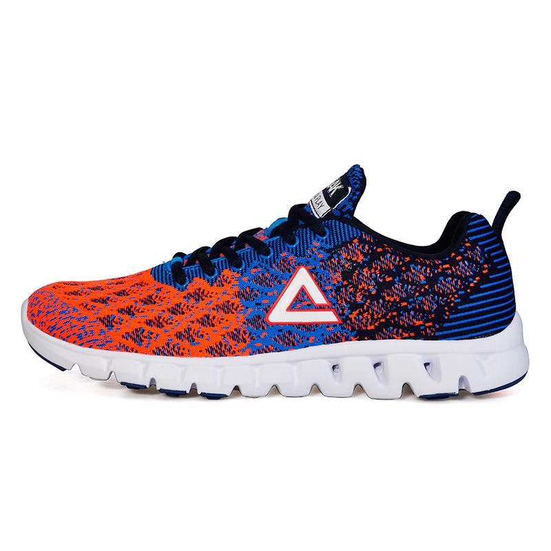 JD Коллекция Темно-синий оранжевый 43 метров специальный шаг xtep 984218119512 обувь кроссовки красный синий 39 метров