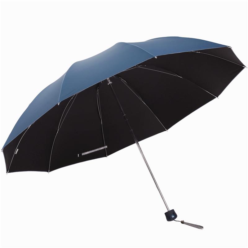 JD Коллекция Серо-голубые зонт женский isotoner ниагара 4 сложения полный автомат цвет черный
