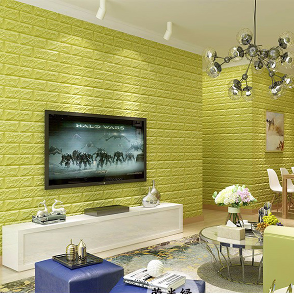 MyMei Зелёный цвет beibehang papel de parede living room wallpaper european ab version tv background sofa wallpaper bedroom deerskin wall paper