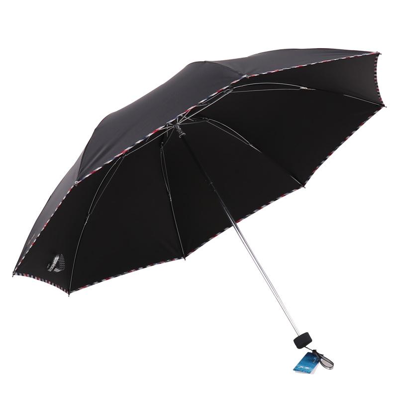 JD Коллекция черный зонт женский isotoner ниагара 4 сложения полный автомат цвет черный