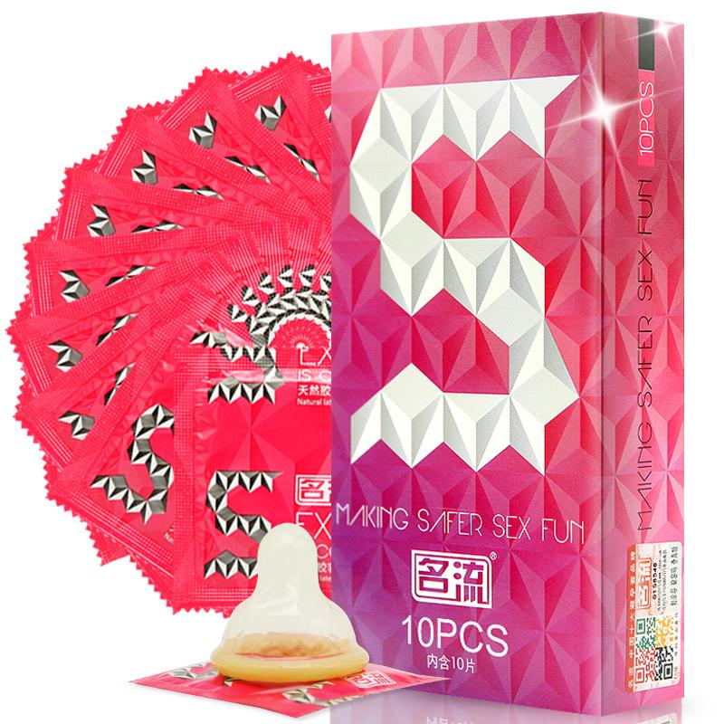JD Коллекция презервативы ganzo extase 3 c точечной и ребристой поверхностью