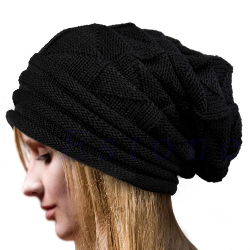 MyMei Чёрный цвет winter beanie men brand winter hats for women bonnet plain balaclava knitted caps blank skullies warm baggy cap gorros hat 2017