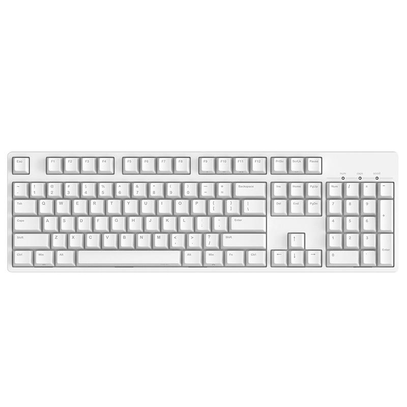 JD Коллекция Белый красный ось carbon 125 key pbt keycap dye sublimated korean typeface cherry mx switch keycap for mechanical gaming keyboard