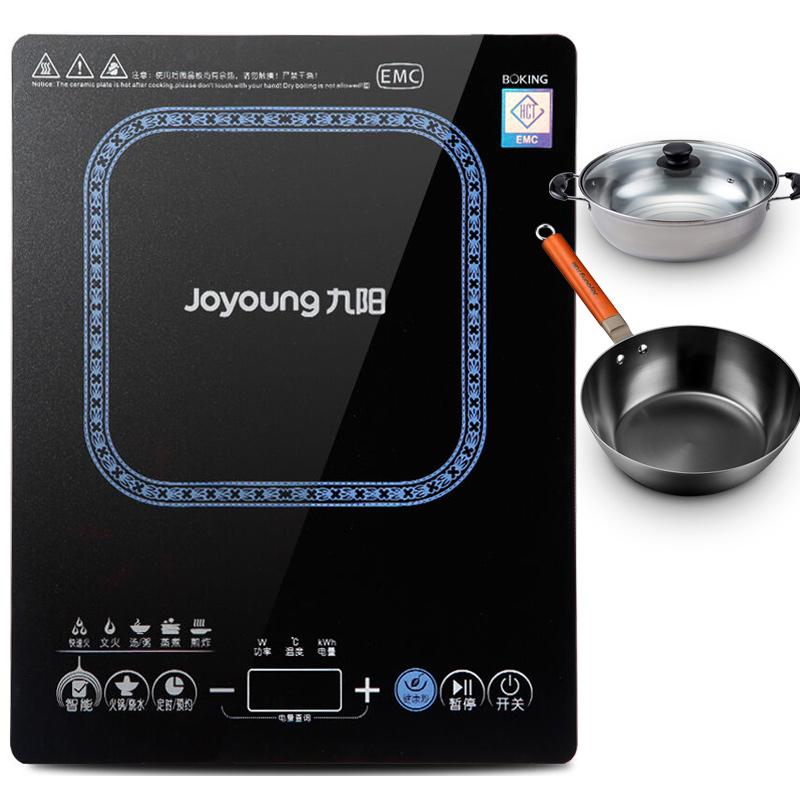 JD Коллекция Обновленная версия подаренной железа чайник сковородка Stockpot SC807 дефолт индукционная плита