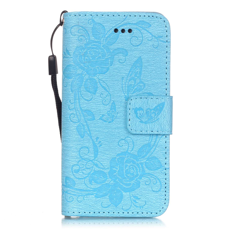 GANGXUN пара зонтик дизайн pu кожаный бумажник держателя карты откидная крышка чехол для iphone 6