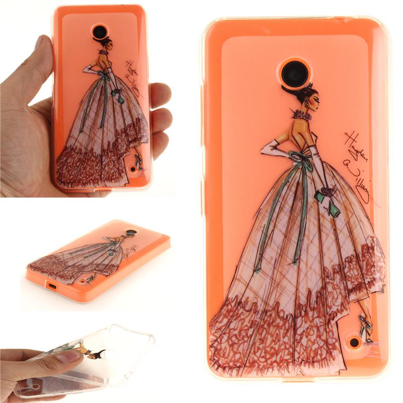 GANGXUN ручная роспись одежды pattern мягкий тонкий тпу резиновая крышка случая силикона геля для huawei honor 8