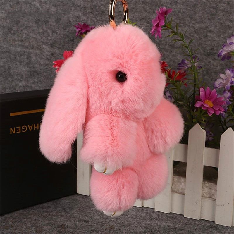 MyMei Розовый цвет small kawaii bunny plush rabbit doll stuffed animals hare soft toys baby children gifts kids cuddly toy 20cm