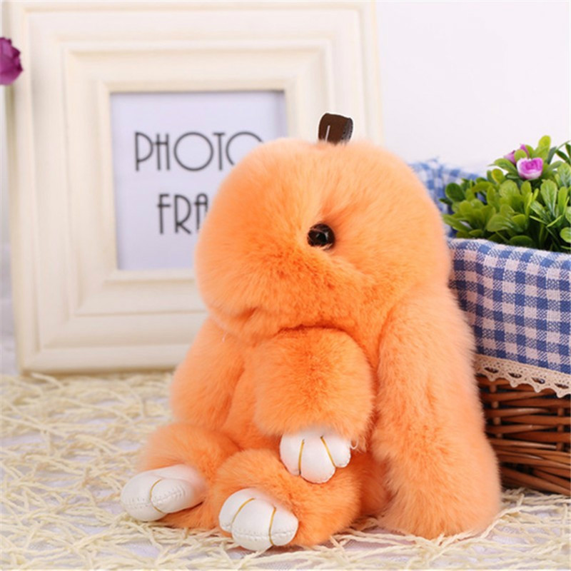 MyMei Orange small kawaii bunny plush rabbit doll stuffed animals hare soft toys baby children gifts kids cuddly toy 20cm