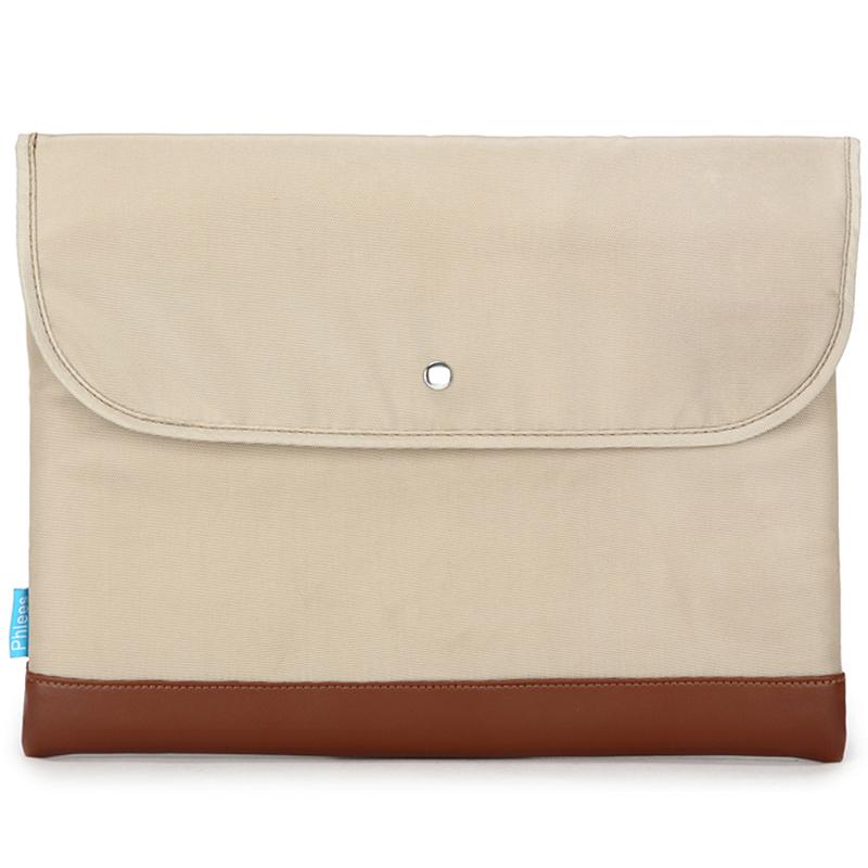 JD Коллекция Кремового цвета 141-дюймовый компьютерная сумка phlees 15 6 дюймовый классический ноутбук для ноутбука air macbook pro бежевый