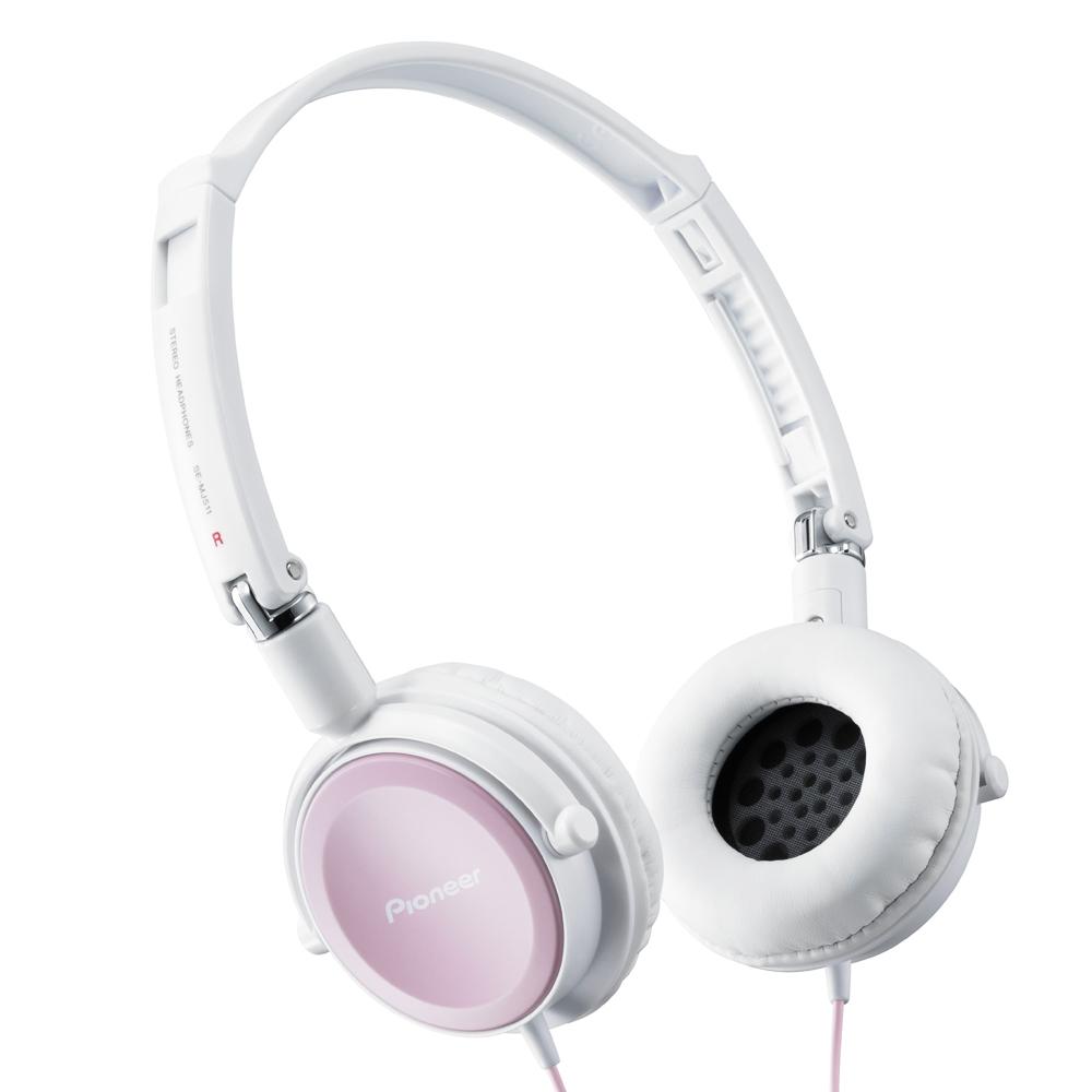 Pioneer SE-MJ511 Светлый розовый цвет наушники pioneer se cl501 p розовый