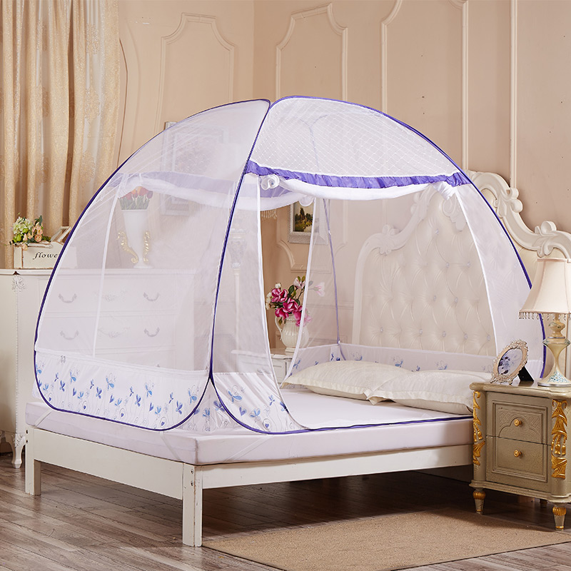 JD Коллекция Трехдверный - Синий Применимое 12 м кровать окна москитные сетки