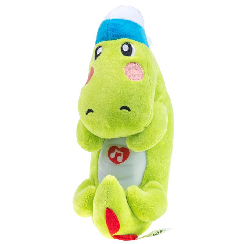 JD Коллекция Успокоить небольшой крокодил дефолт малибу игрушки mali игрушки развивающие игрушки fun барабан ролл барабан ударил музыкальных инструментов детские игрушки t3002