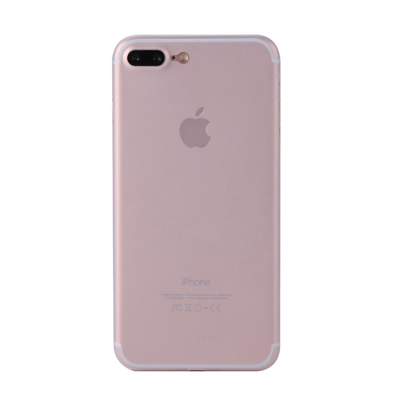 JD Коллекция Прозрачный iPhone 7 Plus бункеры benks iphone8 plus 7 plus чехол для мобильного телефона apple 8 plus 7 plus защитный чехол тонкий матовый чехол полный чехол да черный