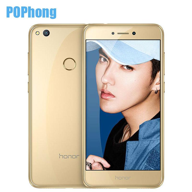 HUAWEI золото сотовый телефон huawei honor 8 lite 4 32gb blue