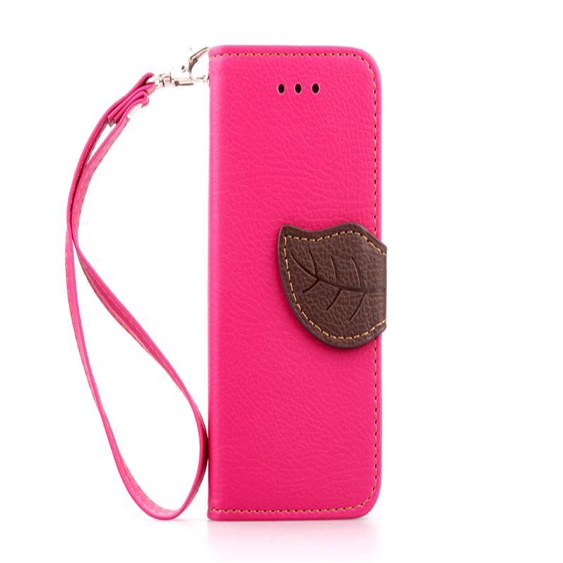 GANGXUN розовый дизайн кожа pu откидная крышка бумажника карты держатель чехол для apple iphone 6