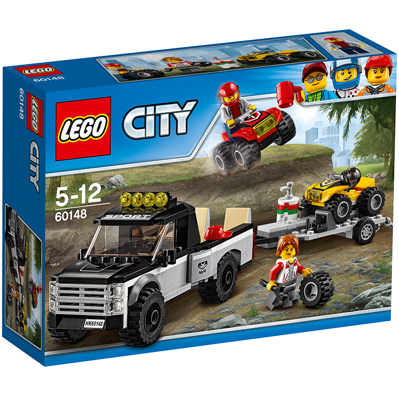 JD Коллекция Внедорожные гоночная команда дефолт lego city гоночная команда 60148