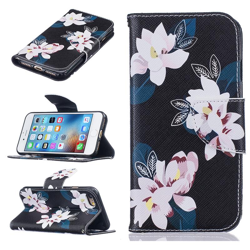 GANGXUN mooncase чехол для iphone 6 plus 6s plus 5 5 флип pu держатель карты стенд кожаный чехол обложка feature no a01