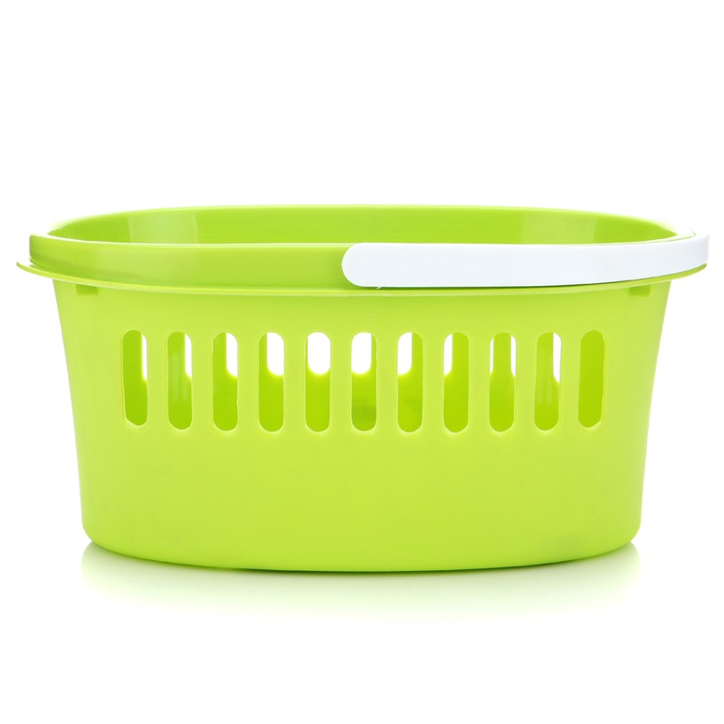 JD Коллекция Полосатая корзина ванны дефолт [супермаркет] иномат импорт jingdong офиса хранение корзины кухня хранение корзина отделка корзина корзина хранения pink