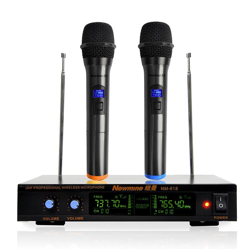 JD Коллекция Обычная черная с двумя дефолт микрофон беспроводной defender mic 140
