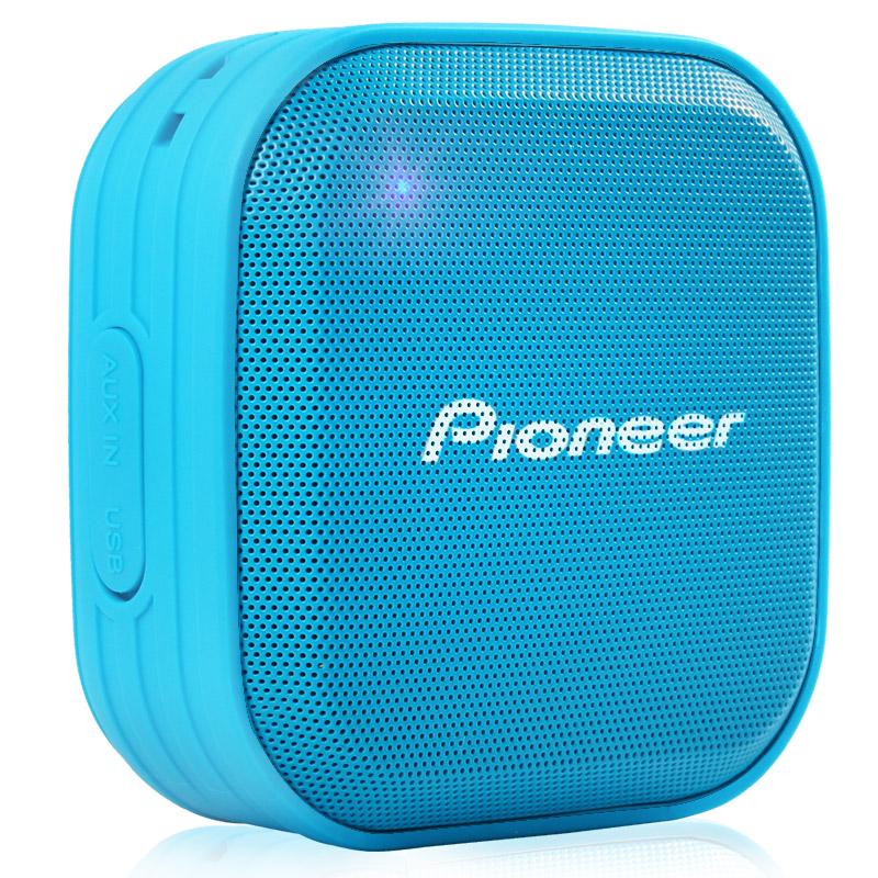 Pioneer Синий водонепроницаемый портативный стерео звук динамик bluetooth pioneer pioneer momo может впитывать большой синий