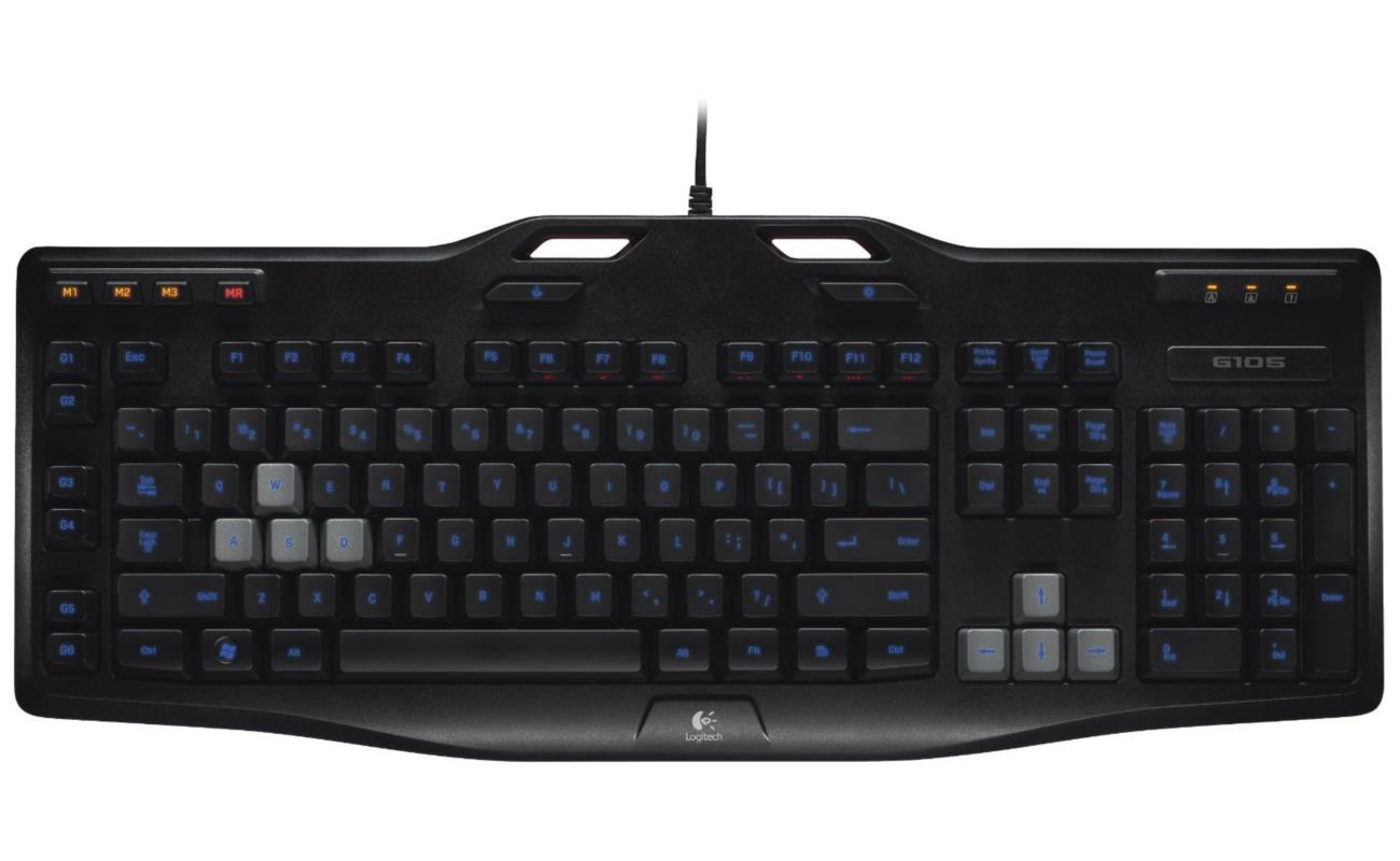 Logitech клавиатура logitech игровая g413 mechanical gaming keyboard rus usb intnl red