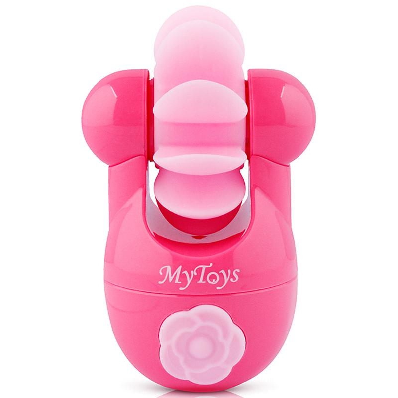 JD Коллекция розовый дефолт mio сексуальная игрушка для взрослых женский вибратор массажер два мотора с 10 частоты