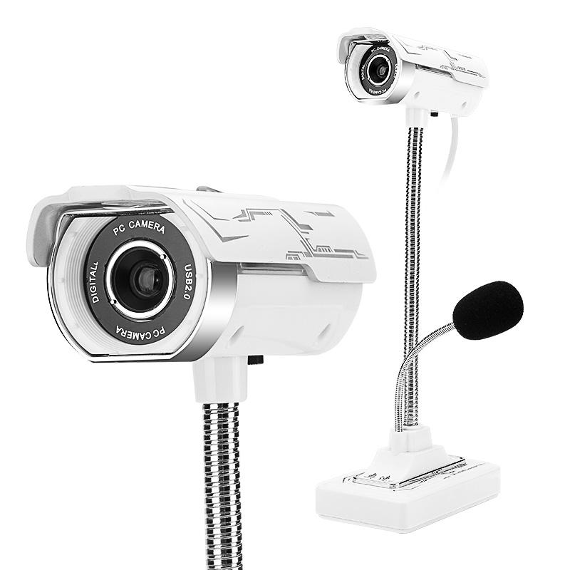 JD Коллекция Белый с фризом ashu v80 hd камера с микрофоном для настольных компьютеров и ноутбуков