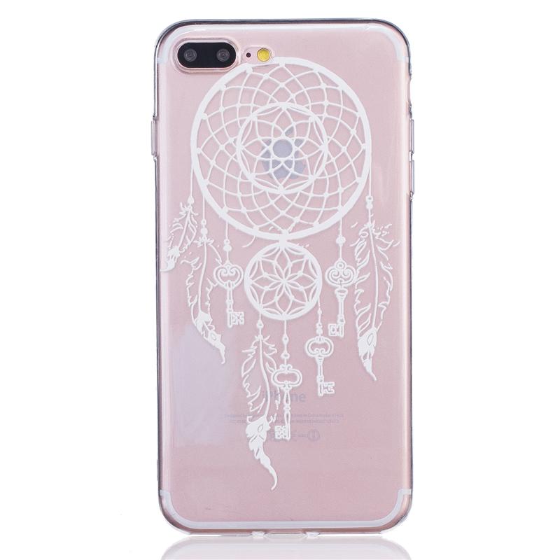 GANGXUN love перья pattern мягкий тонкий tpu резиновый силиконовый гель чехол для iphone 6 plus 6s plus
