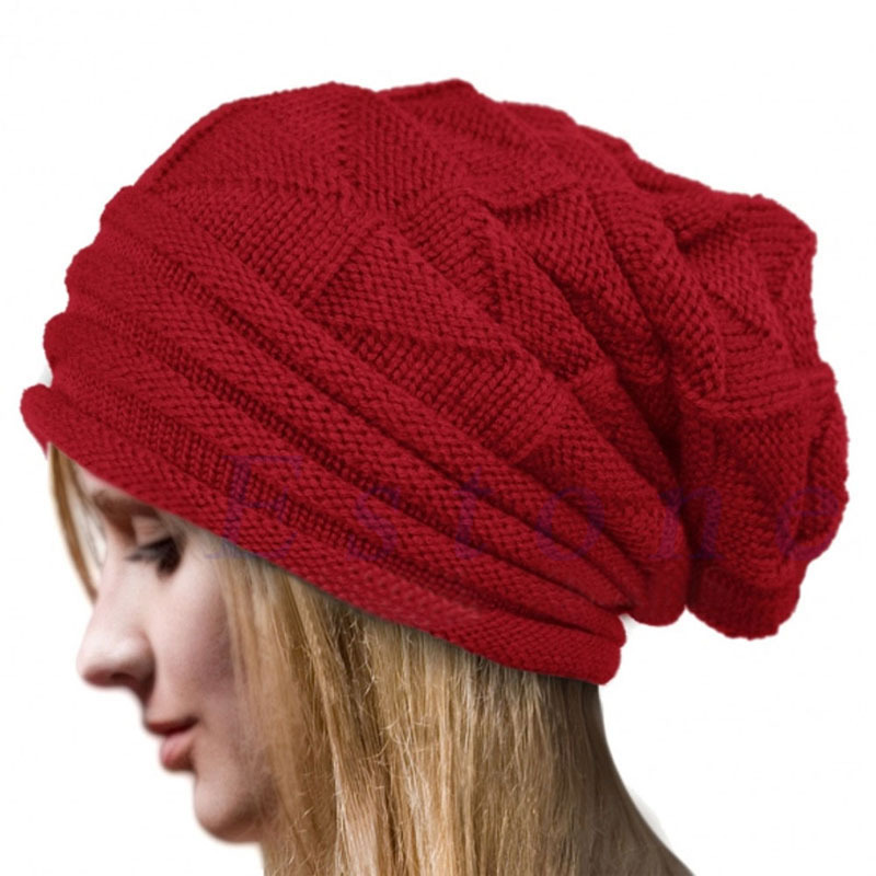 MyMei Красный цвет the new 2015 autumn winter cap hat knitted hats for men and women tide restoring ancient ways cap