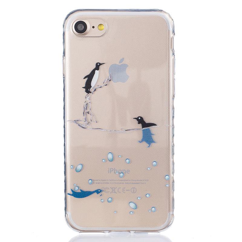 GANGXUN малый дельфинов картины мягкий тонкий тпу резиновая крышка случая силикона геля для huawei y5 ii