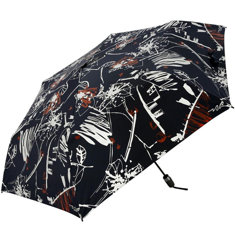 JD Коллекция военно-морской флот дефолт jingdong [супермаркет] рай зонтик upf50 весь оттенок черного винила передачи сложенный зонтик зонтик зонт от солнца восход 30309dlcj