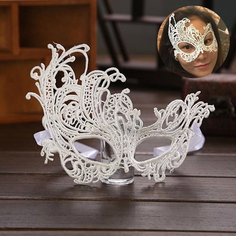 MyMei Золотой цвет yeduo black sexy lady lace mask for masquerade halloween party fancy dress costume
