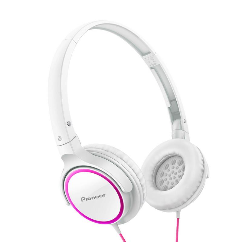 Pioneer SE-MJ512 Бело-розовый наушники pioneer se cl501 p розовый