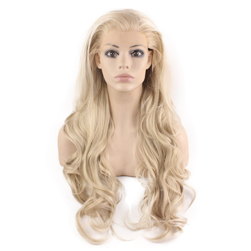 iwona blonde cosplay wig wholesale price cut hairstyle long striaght wig cosplay hair blonde cosplay wig
