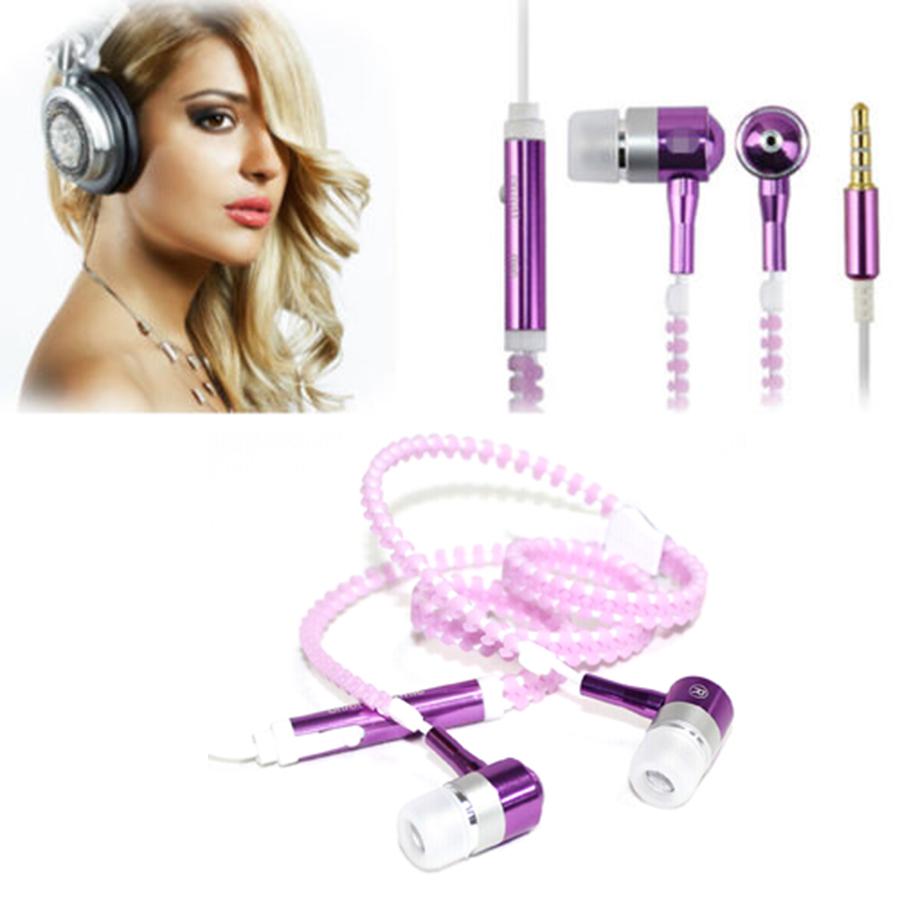 MyMei Фиолетовый цвет new fashion glow in the dark in ear earphones luminous night light glowing