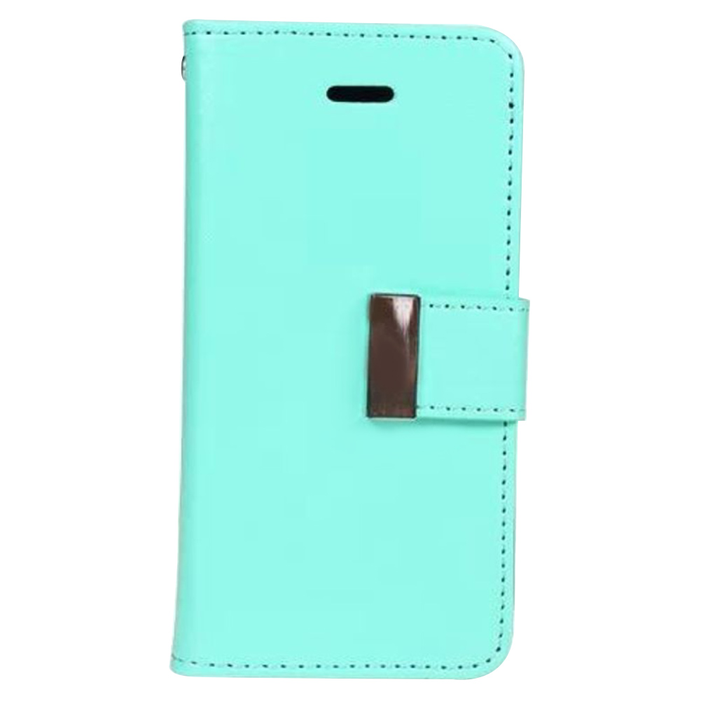 MyMei Зелёный цвет mymei new wallet flip pu leather phone case cover for iphone 6p
