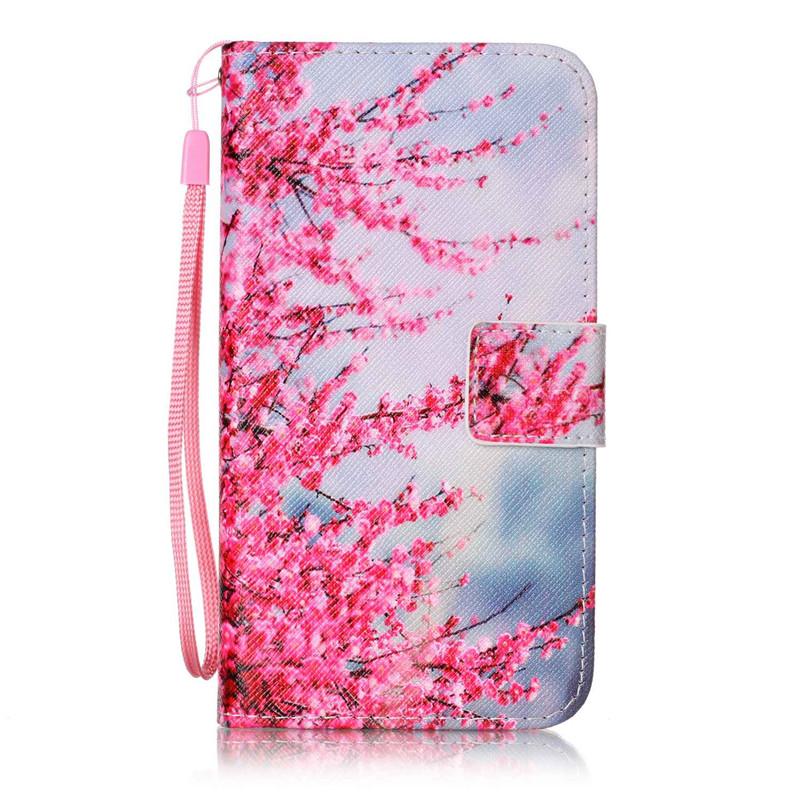 Чехол для LG K7LG M1 плам блоссом дизайн кожа pu откидной крышки кошелек карты чехол для lg k7 lg m1