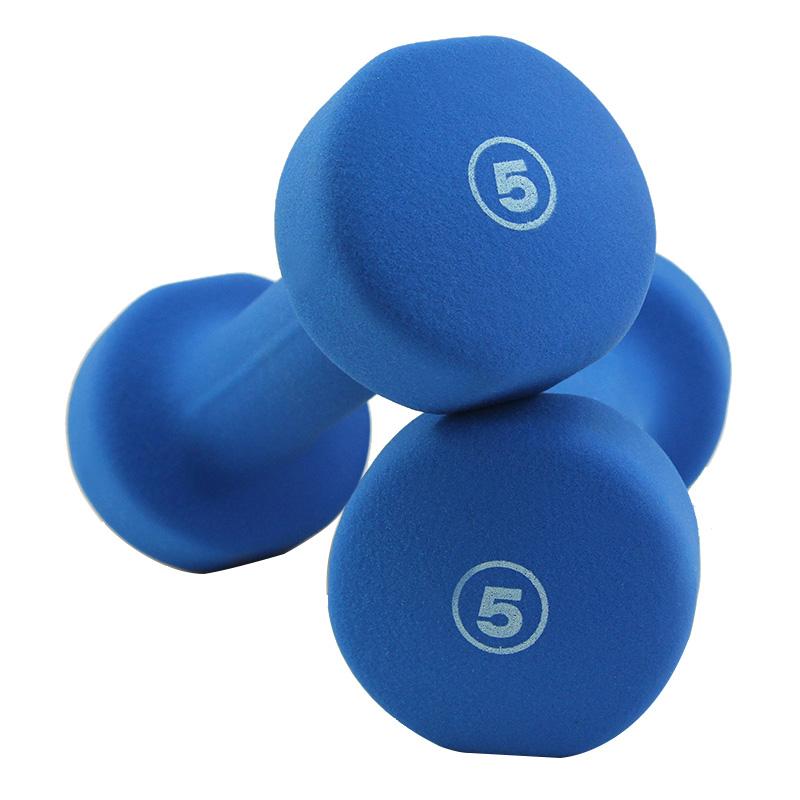 JD Коллекция Синий 5 фунтов 2 proiron цвет матовый скраб гантель чжэн дуоян прыжок гимнастика гантель костюм фитнес оборудование спортивные товары 3 кг