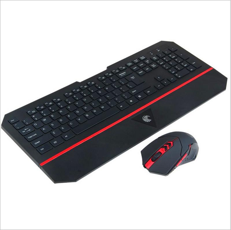 RAJFOO лян серии - бизнес - черный проводная клавиатура и мышь костюм настольного ноутбука мышь и клавиатура игры домой водонепроницаемая клавиатура компьютера