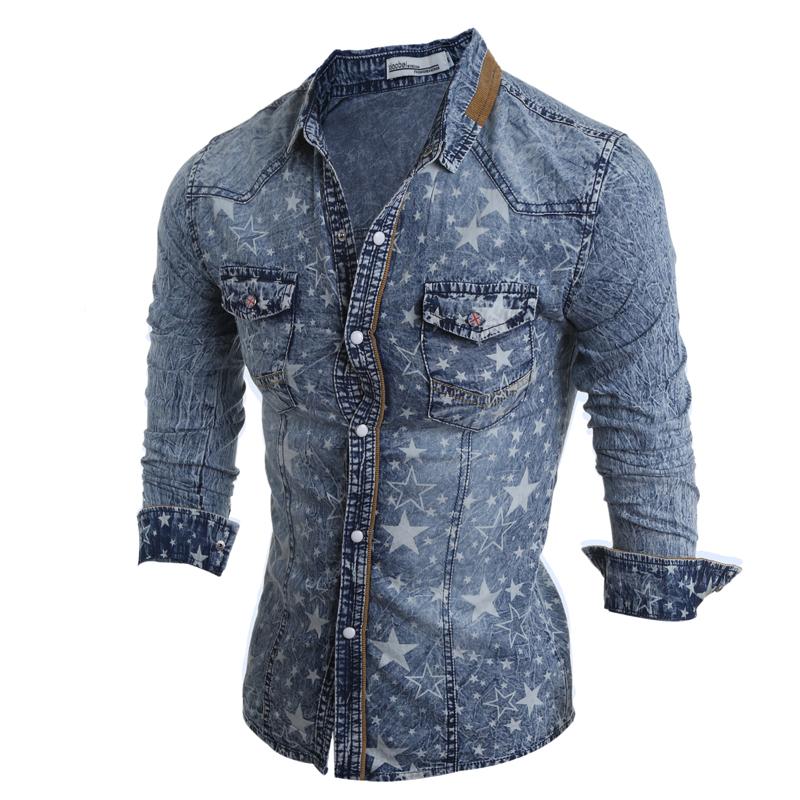 CT&HF голубой Номер XL рубашки